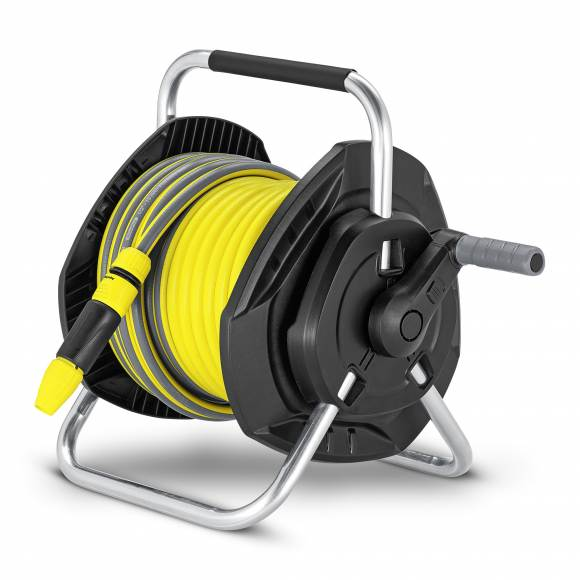 25m Free Standing/Wall Mounted Hose Reel